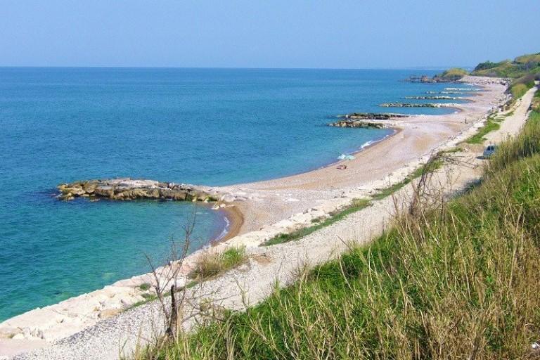Una spiaggia della Costa dei Trabocchi
