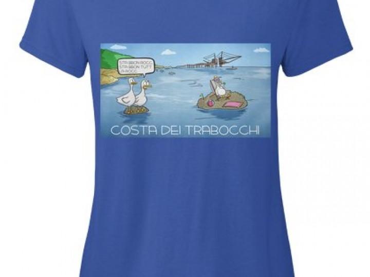 Acquista la T-Shirt da donna della Costa dei Trabocchi