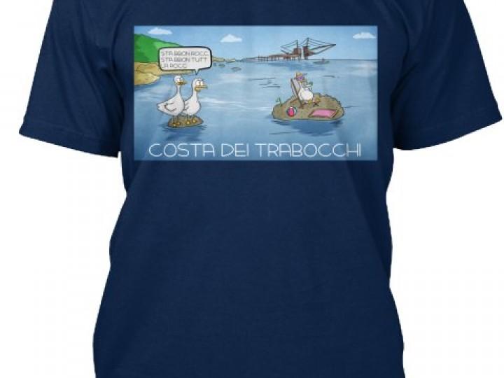 Acquista la T-Shirt da uomo della Costa dei Trabocchi