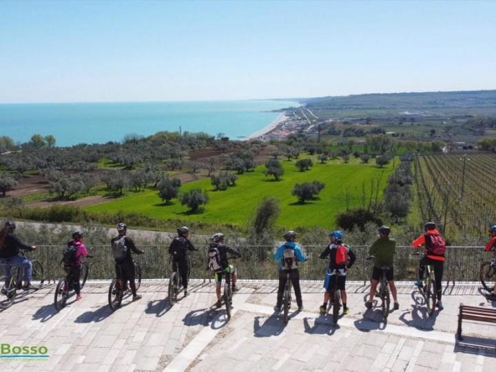 In bici a San Giovanni in Venere
